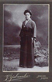 Ester Salome Kurvinen Japanissa 1903