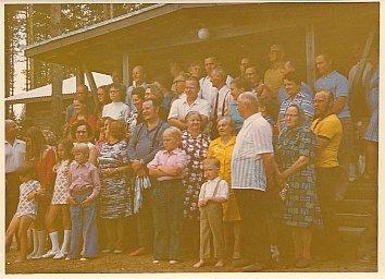 Sukukokouksen illanvietto 1972 Putkelassa