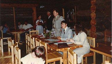 1982 Oiva Hakkarainen, Mikko Kärki ja Riitta Kurvinen