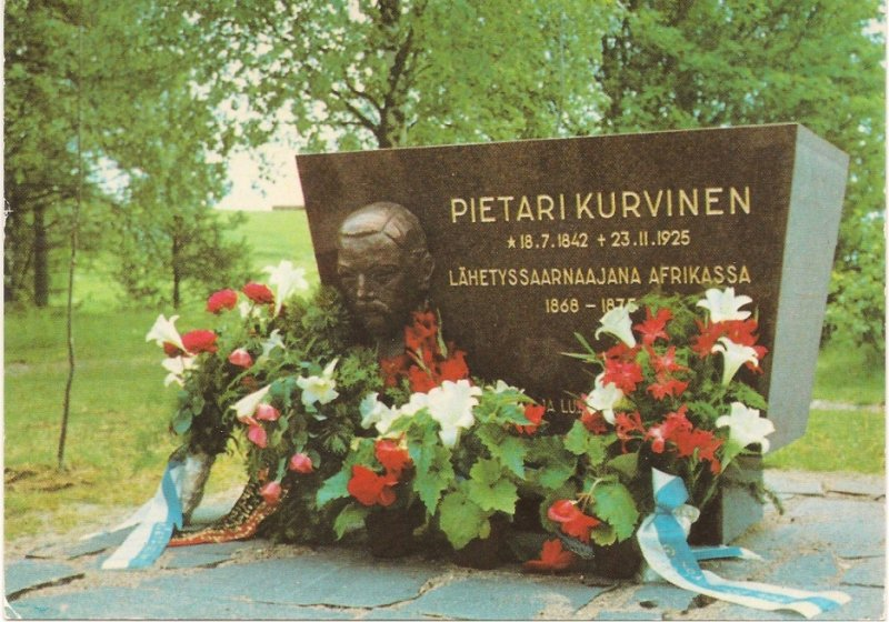 Pietari Kurvisen muistomerkki