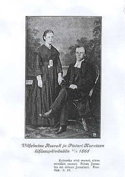 Wilhelmiina ja Pietari Kurvinen
