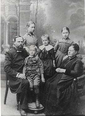 Pietari Kurvisen perhe
